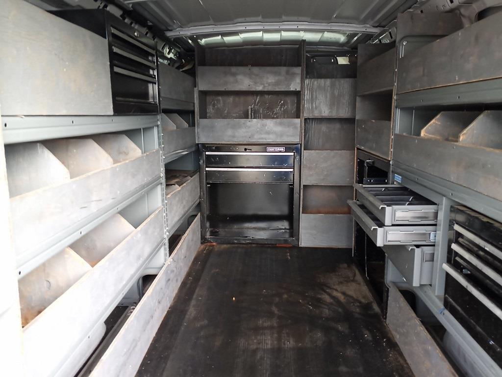 2012 Chevrolet Express 3500 4x2, Upfitted Cargo Van #GZP9399 - photo 45