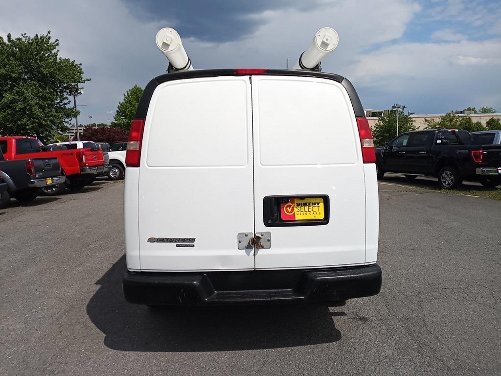 2012 Chevrolet Express 3500 4x2, Upfitted Cargo Van #GZP9399 - photo 9