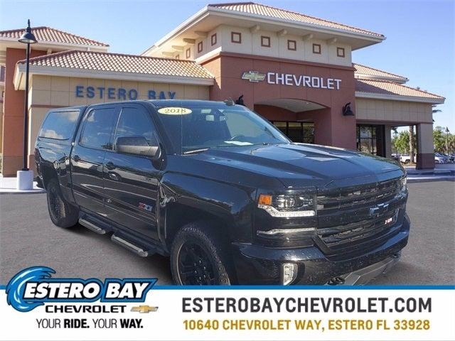 2018 Chevrolet Silverado 1500 Crew Cab 4x4, Pickup #8777M - photo 1