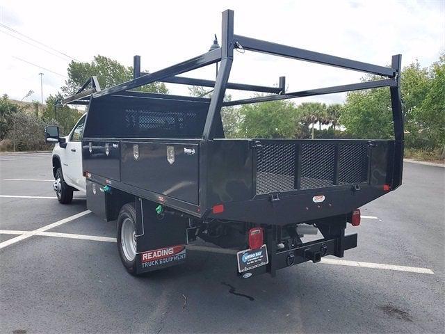 2021 Chevrolet Silverado 3500 Crew Cab 4x4, Contractor Body #9760 - photo 7