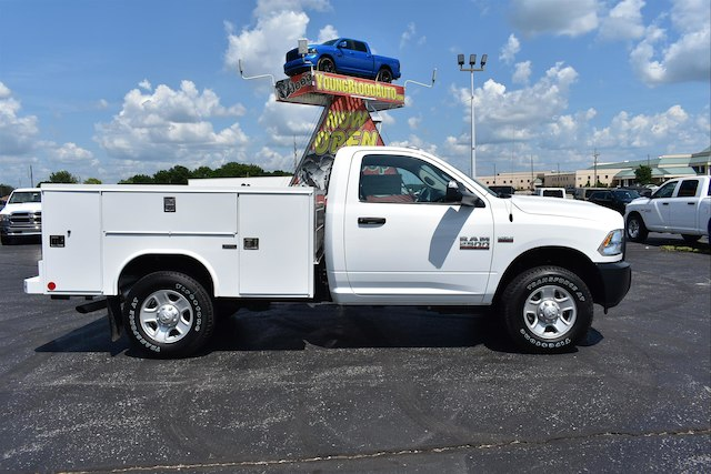 2018 Ram 2500 Regular Cab 4x4,  Reading Service Body #22629 - photo 3