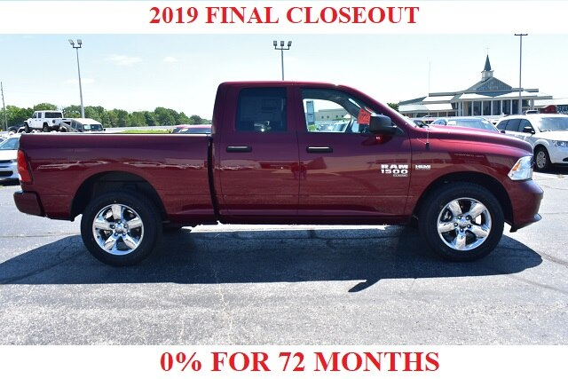 2019 Ram 1500 Quad Cab 4x4,  Pickup #22745 - photo 1