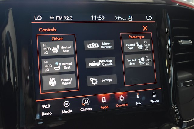 2019 Ram 1500 Crew Cab 4x4,  Pickup #22851 - photo 15
