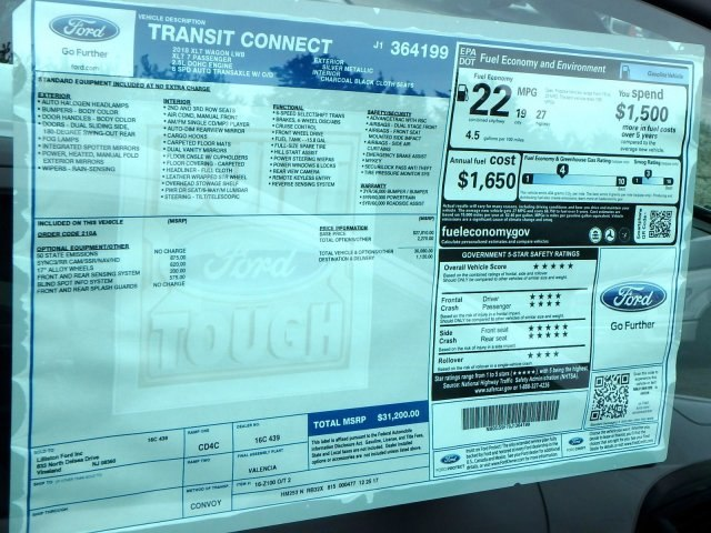 2018 Transit Connect, Passenger Wagon #64199N - photo 8