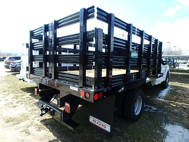 2017 F-350 Regular Cab DRW, Reading Stake Bed #67547N - photo 2