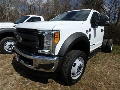 2017 F-450 Regular Cab DRW 4x4,  Duramag Dump Body #83852N - photo 3