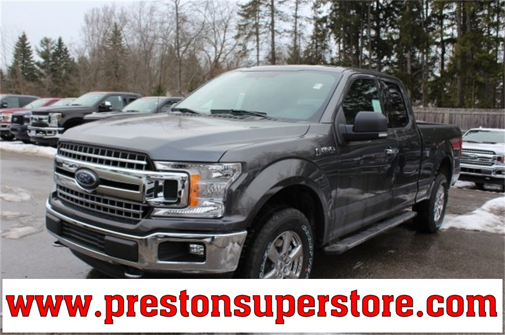 2018 F-150 Super Cab 4x4, Pickup #F18315 - photo 1