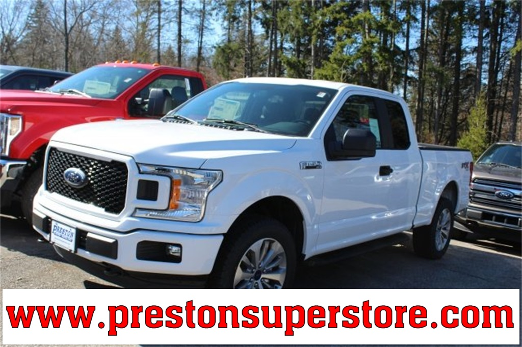 2018 F-150 Super Cab 4x4, Pickup #F18354 - photo 1