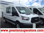 2018 Transit 250 Med Roof, Cargo Van #F18398 - photo 1