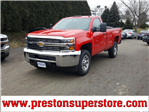 2018 Silverado 3500 Regular Cab 4x4, Pickup #218560 - photo 1