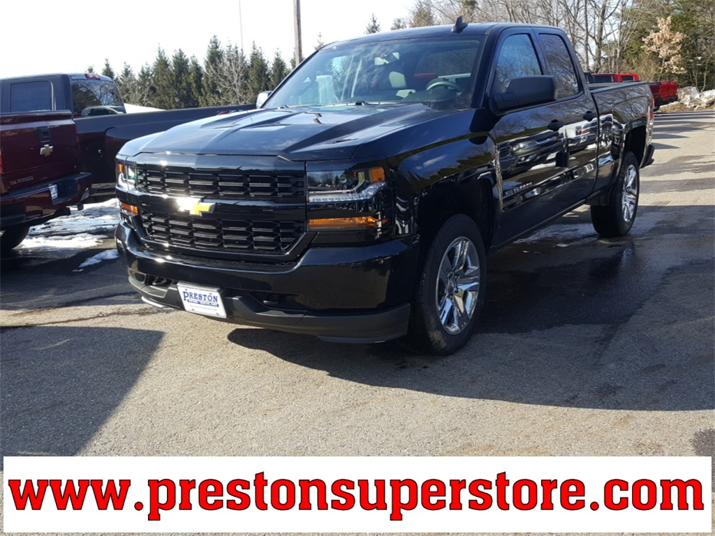 2018 Silverado 1500 Double Cab 4x4, Pickup #218707 - photo 1