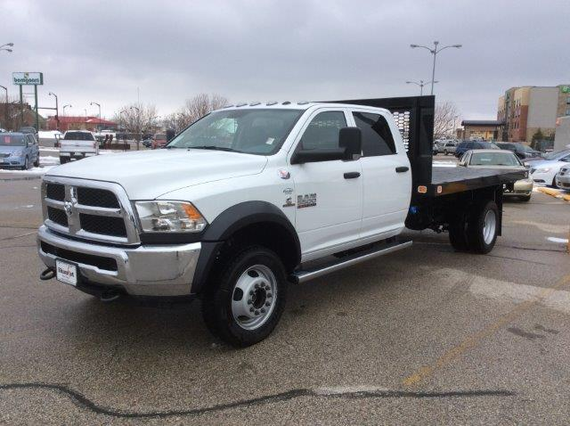 2018 Ram 5500 Crew Cab DRW 4x4, Platform Body #22060 - photo 3