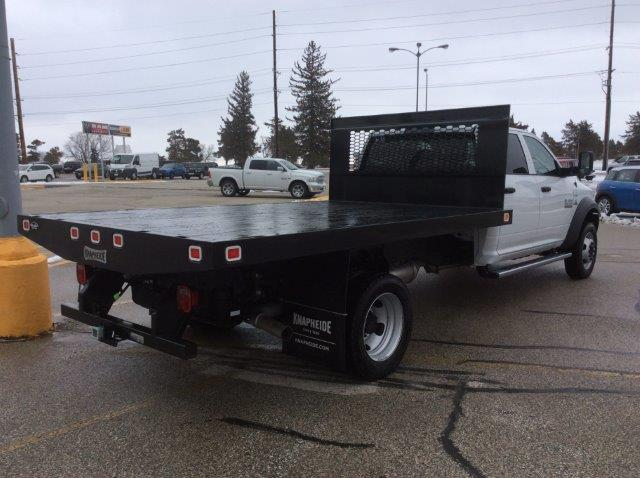 2018 Ram 5500 Crew Cab DRW 4x4, Platform Body #22060 - photo 2