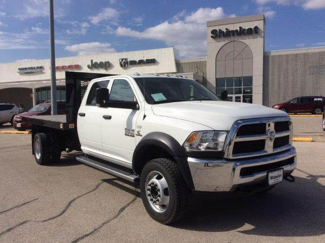 2018 Ram 5500 Crew Cab DRW 4x4, Knapheide Value-Master X Platform Body #22060 - photo 1