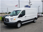 2018 Transit 250 Med Roof 4x2,  Empty Cargo Van #JKB24230 - photo 1
