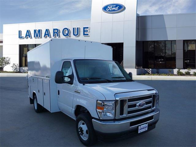 2021 Ford E-350 4x2, Reading Aluminum CSV Service Utility Van #MDC38851 - photo 1