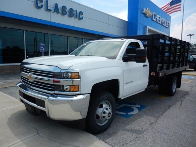 2018 Silverado 3500 Regular Cab DRW 4x2, Knapheide Stake Bed #73235   Photo  ...