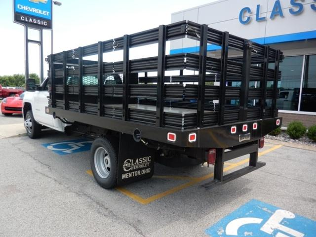 ... 2018 Silverado 3500 Regular Cab DRW 4x2, Knapheide Stake Bed #73235    Photo ...