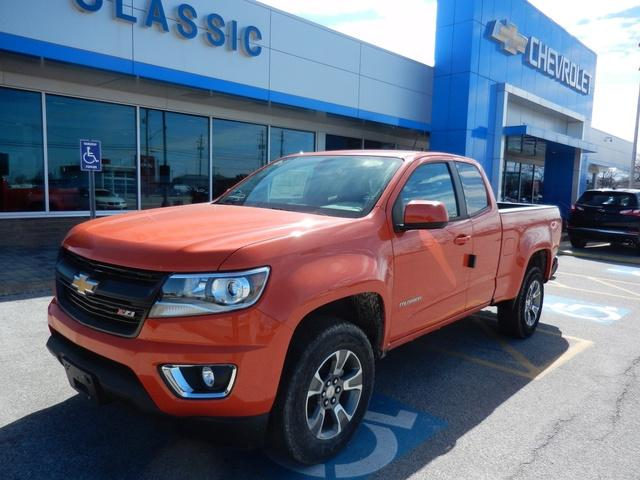 Classic Chevy Mentor >> 2019 Colorado Extended Cab 4x4 Pickup Stock 75394