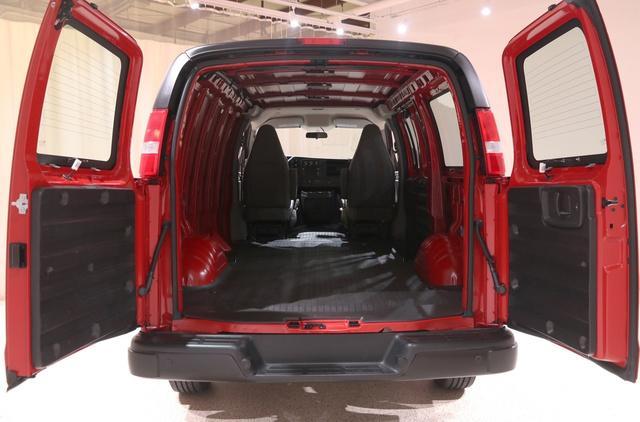 2020 Chevrolet Express 2500 4x2, Empty Cargo Van #77781A - photo 1