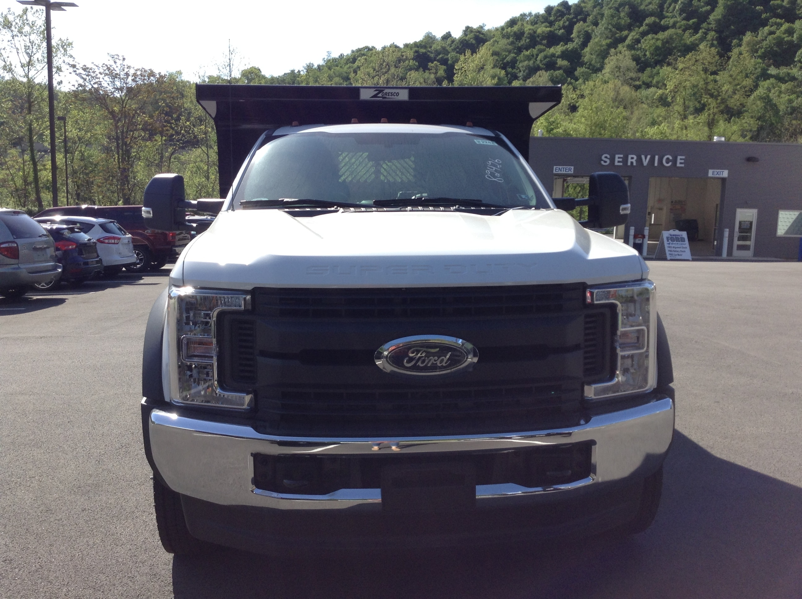 2017 F-550 Regular Cab DRW 4x4, Rugby Dump Body #5F2242 - photo 3