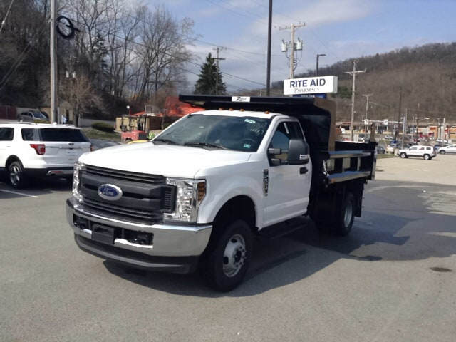 2018 F-350 Regular Cab DRW 4x4, Dump Body #5F2906 - photo 1