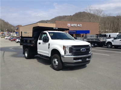 2018 F-350 Regular Cab DRW 4x4, Dump Body #5F2906 - photo 7
