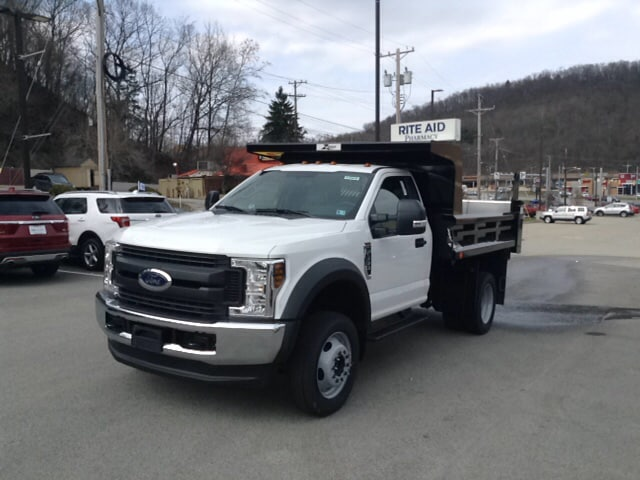 2018 F-550 Regular Cab DRW 4x4, Dump Body #5F2929 - photo 1