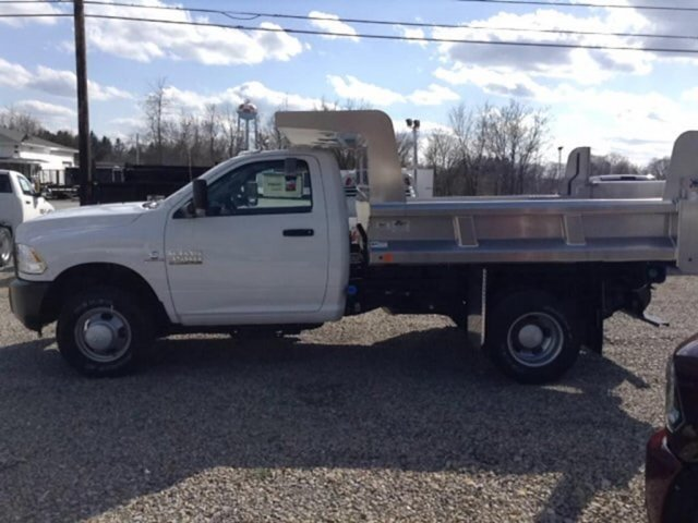2017 Ram 3500 Regular Cab DRW 4x4,  Dump Body #C14963 - photo 4