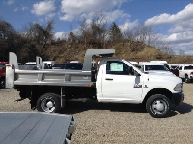 2017 Ram 3500 Regular Cab DRW 4x4,  Dump Body #C14963 - photo 6
