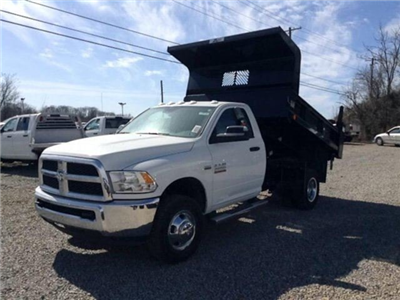2018 Ram 3500 Regular Cab DRW 4x4, Dump Body #C15528 - photo 1