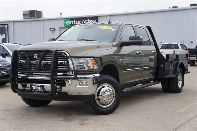 2015 Ram 3500 Crew Cab DRW 4x4,  Platform Body #JG352754A - photo 1