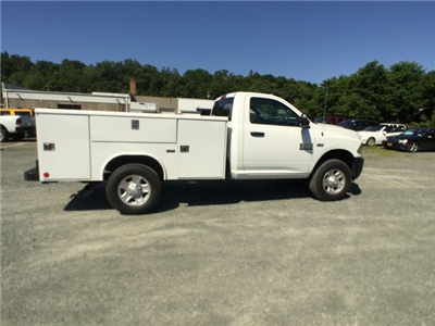 2018 Ram 3500 Regular Cab 4x4,  Reading Classic II Steel Service Body #AA275 - photo 21
