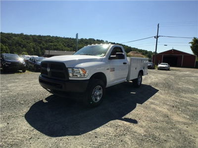2018 Ram 3500 Regular Cab 4x4,  Reading Classic II Steel Service Body #AA275 - photo 9