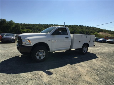 2018 Ram 3500 Regular Cab 4x4,  Reading Classic II Steel Service Body #AA275 - photo 1