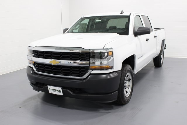 2017 Silverado 1500 Crew Cab 4x4, Pickup #E19847 - photo 4