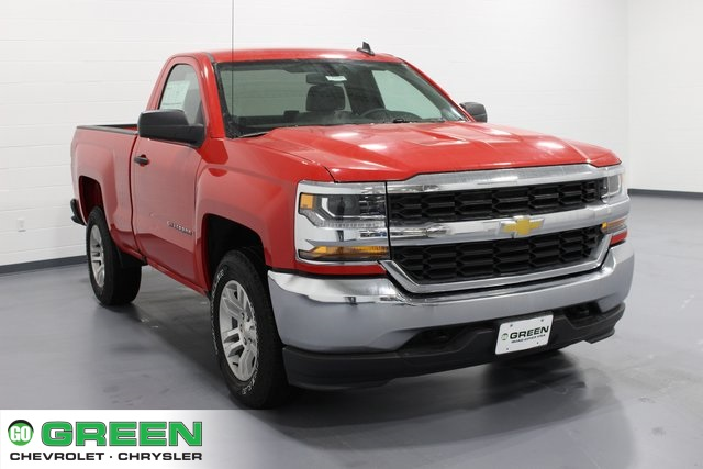 2018 Silverado 1500 Regular Cab 4x4,  Pickup #E20094 - photo 1