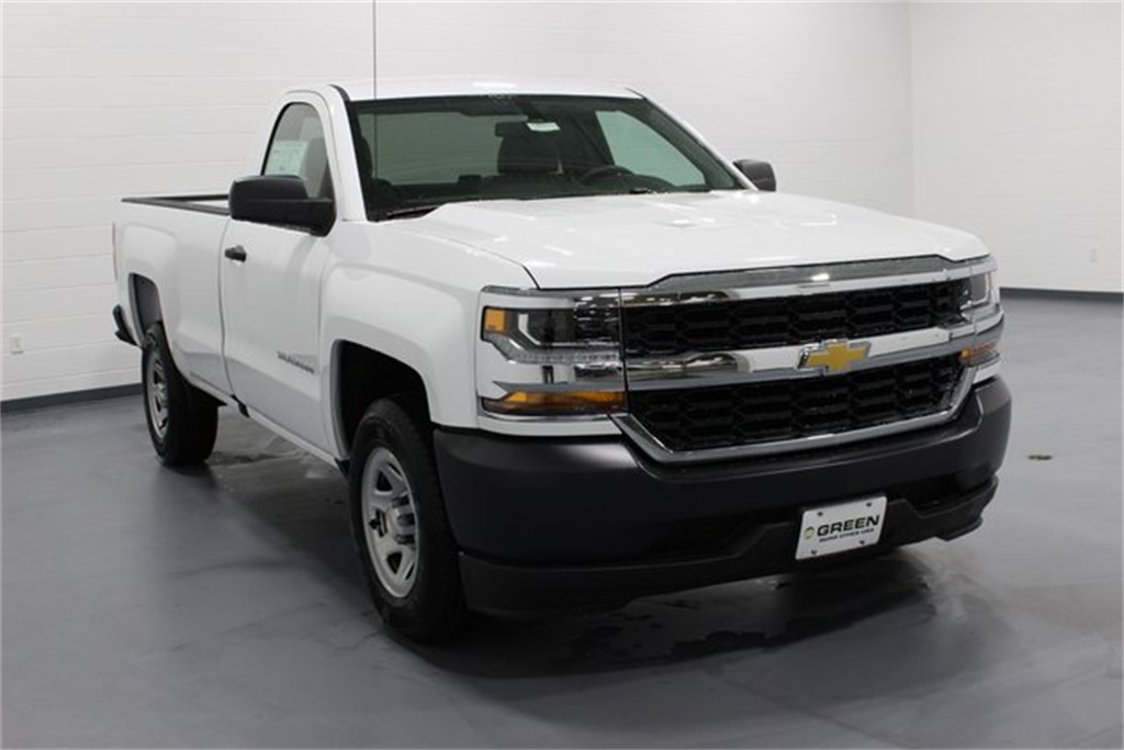2018 Silverado 1500 Regular Cab, Pickup #E20610 - photo 1