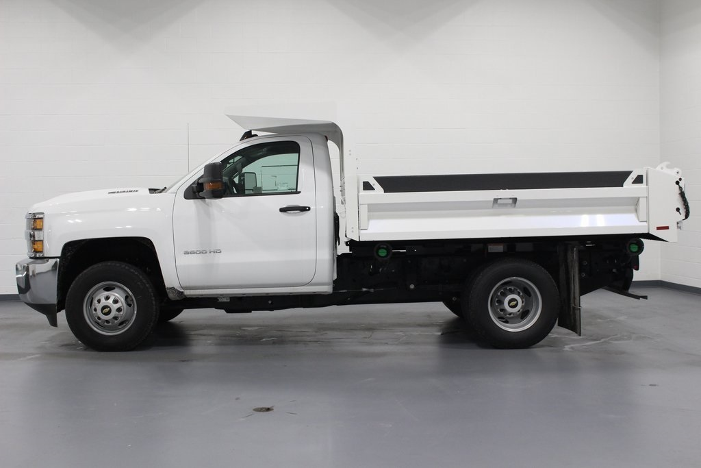 2018 Silverado 3500 Regular Cab DRW 4x4,  Knapheide Drop Side Dump Body #E20673 - photo 5