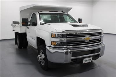 2018 Silverado 3500 Regular Cab DRW 4x4,  Knapheide Drop Side Dump Body #E20673 - photo 3