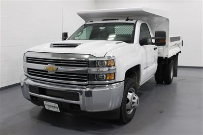 2018 Silverado 3500 Regular Cab DRW 4x4,  Knapheide Drop Side Dump Body #E20673 - photo 1