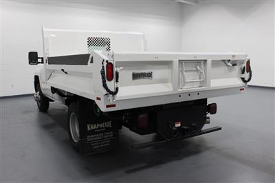 2018 Silverado 3500 Regular Cab DRW 4x4,  Knapheide Drop Side Dump Body #E20673 - photo 6