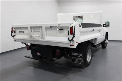 2018 Silverado 3500 Regular Cab DRW 4x4,  Knapheide Drop Side Dump Body #E20673 - photo 2