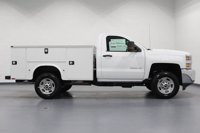 2018 Silverado 2500 Regular Cab 4x2,  Knapheide Service Body #E20825 - photo 8