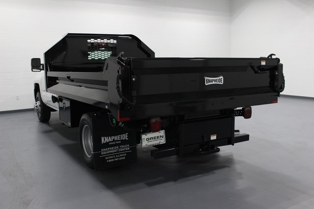 2018 Silverado 3500 Regular Cab DRW 4x4, Dump Body #E20891 - photo 6