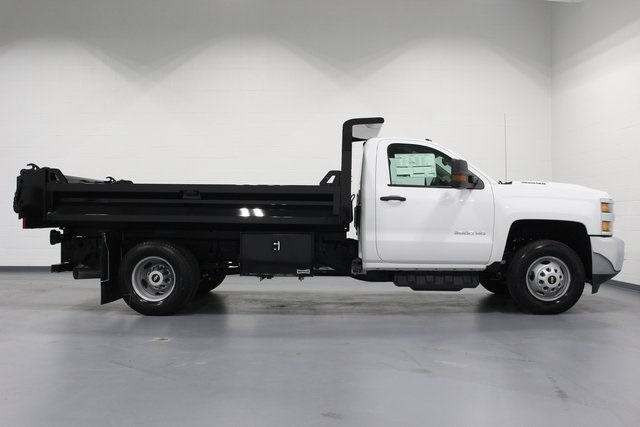 2018 Silverado 3500 Regular Cab DRW 4x4, Dump Body #E20891 - photo 8