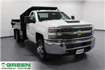 2018 Silverado 3500 Regular Cab DRW 4x4, Dump Body #E20891 - photo 1