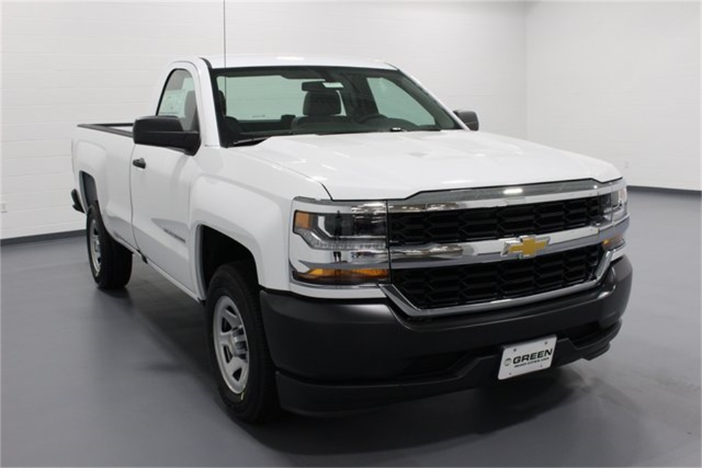 2018 Silverado 1500 Regular Cab 4x2,  Pickup #E20941 - photo 1