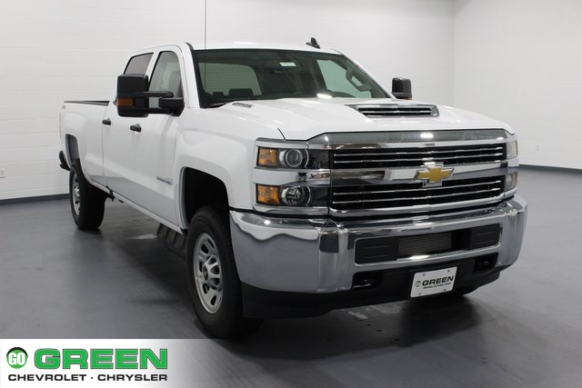 2018 Silverado 3500 Crew Cab 4x4,  Pickup #E20992 - photo 1