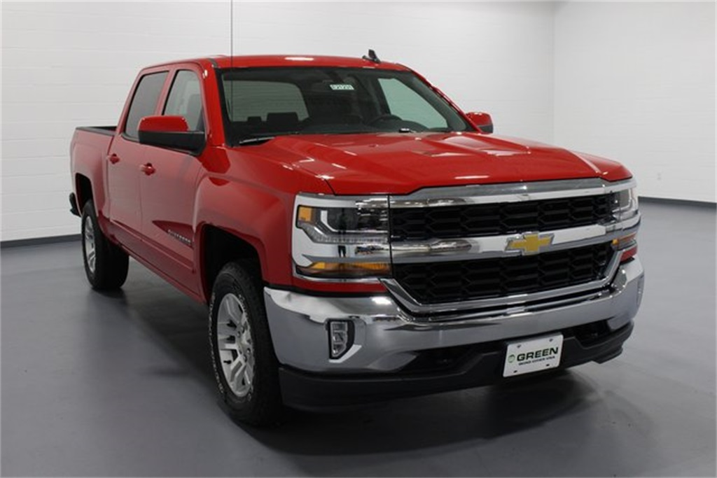 2018 Silverado 1500 Crew Cab 4x4,  Pickup #E21231 - photo 1